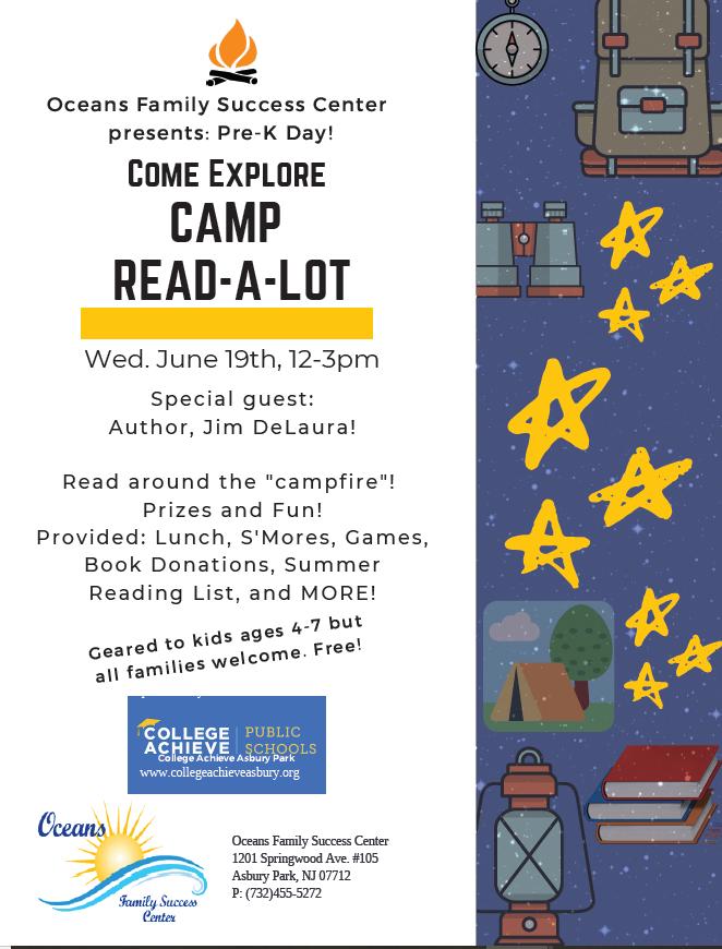 Camp Read A Lot coming June 19!