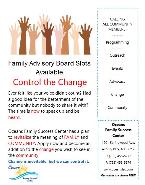Join the Family Advisory Board!