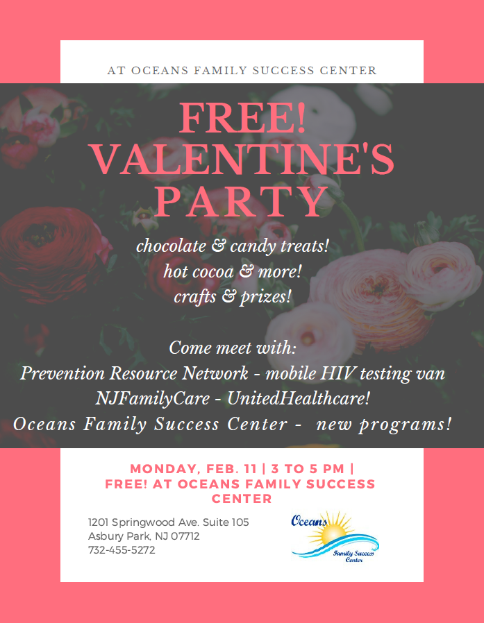 Valentine's Party on Feb. 11