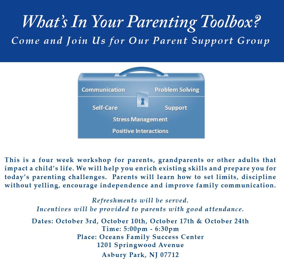 Parents Toolbox! Equip yourself with good resources